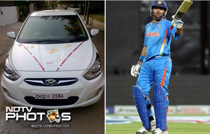 """Yuvraj Singh, India's World Cup hero, recently got his World Cup gift- Hyundai Verna 1.6 SX. Yuvraj posted a picture of his new machine on Twitter and wrote: """"finally got our world cup gift ! Thank you hyundai. For the lovely 1.6 verna sx its really cool."""""""