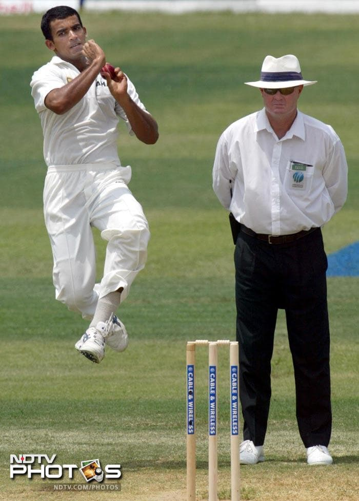 """Zaheer has been widely known to be a canny bowler; one who does not try to get a wicket of every ball but instead uses each one to set the batsman up for a wicket-taking delivery.<br><br> <a href=""""http://gen.ndtv.com/convergence/ndtv/new/forums/readforum.aspx?trdid=4631"""">Wish Zaheer Khan on his 33rd birthday</a>"""