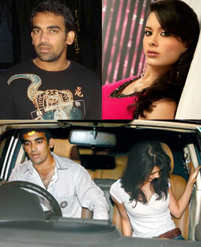 """Speculations regarding the relationship of the speedster with Isha Sharvani have made the headlines ever since the two met in the year 2005. Reports regarding a possible engagement had come up earlier this year.<br><br> <a href=""""http://gen.ndtv.com/convergence/ndtv/new/forums/readforum.aspx?trdid=4631"""">Wish Zaheer Khan on his 33rd birthday</a>"""