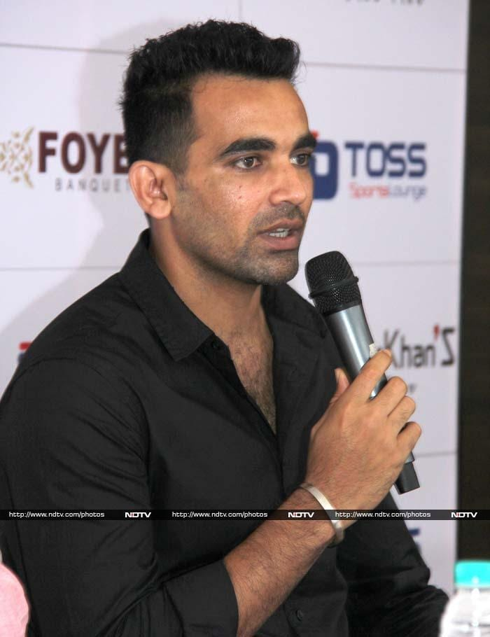"""Zaheer Khan who made foray in business way back in 2005 with his first restaurant ZK'S at the Lulla Nagar area of Pune wishes to continue his spell with this segment by creating an array of brands that will cater to different sections.<br><br> While unveiling his off pitch plans, Zaheer said, """"After having established ourselves in the restaurant business and after completing the learning curve we now feel qualified and confident to go a step further and wish to work in the specialized areas of sports lounge, fine dine restaurants, theme restaurants, cafes and banqueting""""."""