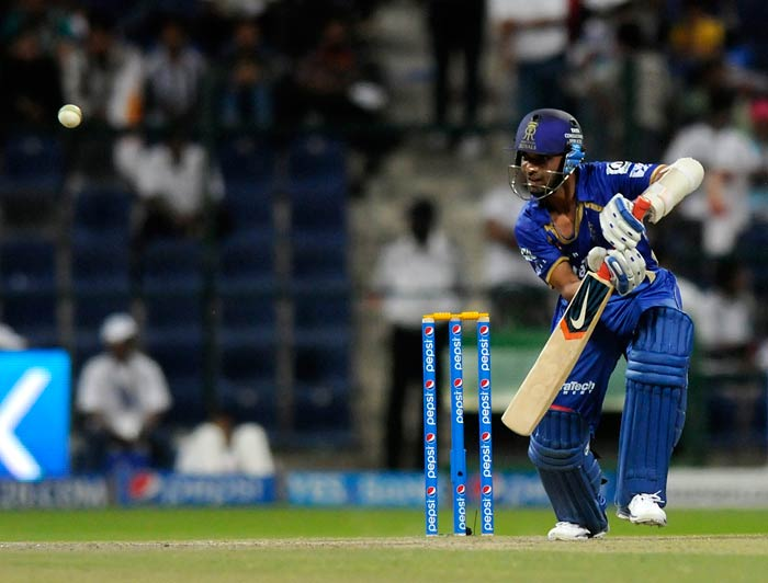 Ajinkya Rahane's 59 off 53 balls saw Rajasthan through to a four-wicket win over Hyderabad. (All images BCCI)