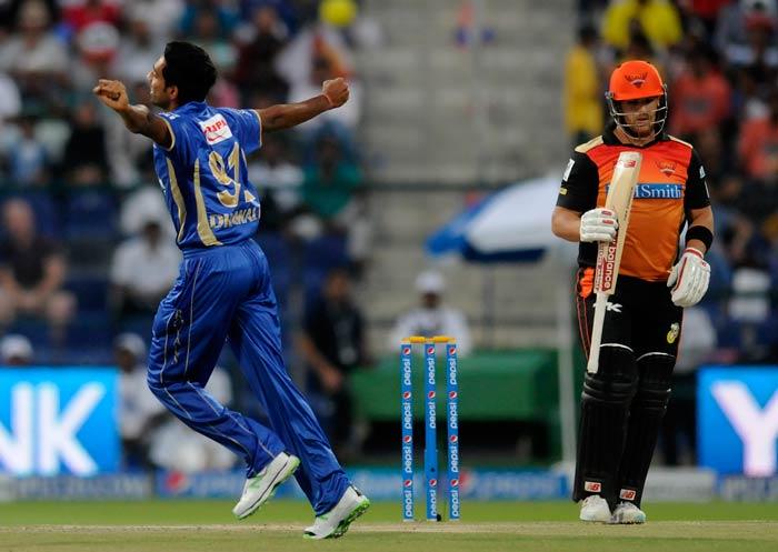 Dhawal Kulkarni took 2/23 as Rajasthan stemmed the flow of runs.