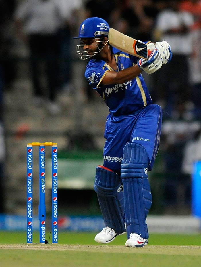 But Ajinkya Rahane's calm innings of 59 ensured that Rajasthan would cross the finish line to start their campaign off with a win.