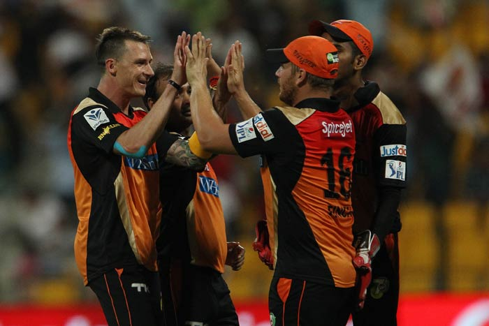 Dale Steyn was in terrific form as he snared two wickets and the match took an interesting turn.