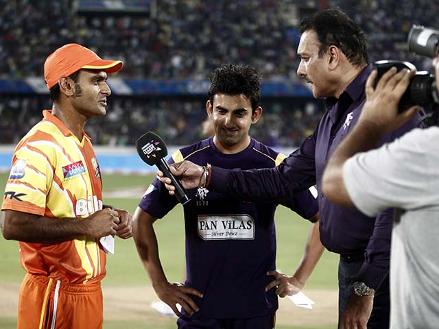 CLT20: Gautam Gambhir Leads From the Front as Kolkata Knight Riders Overcome Lahore Lions