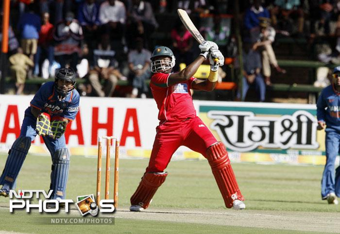 Hamilton Masakadza gave his opening partner Brendan Taylor good support in 2010 - scoring 46 and 66 against a struggling Indian side.