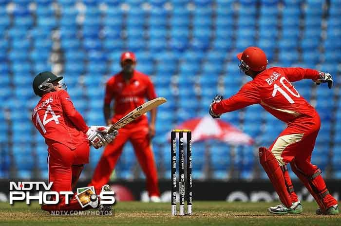 Sean Williams (seen batting in the image) has done decently well for Zimbabwe. He might not have been there in 2010 but his batting average of 32+ and 13 ODI fifties suggest that he is capable enough. He is also a handy left-arm orthodox bowler.