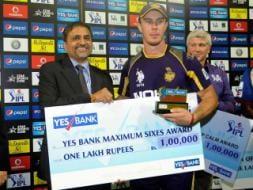 Photo : IPL 7: Chris Lynn's stunner gives Kolkata a 2-run victory over Bangalore