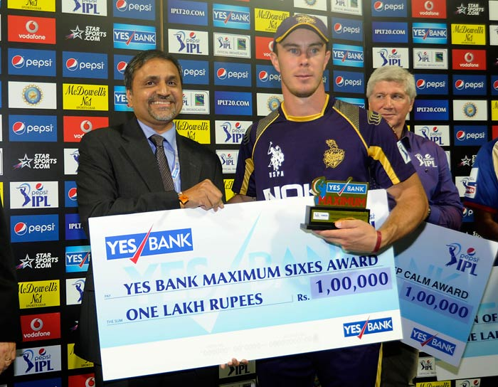 Kolkata Knight Riders overcame Royal Challengers Bangalore by just two runs in what was a tense finish. (All images BCCI)