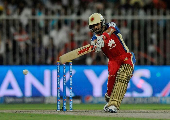 Skipper Virat Kohli hit a fluent 31 with some well timed shots.