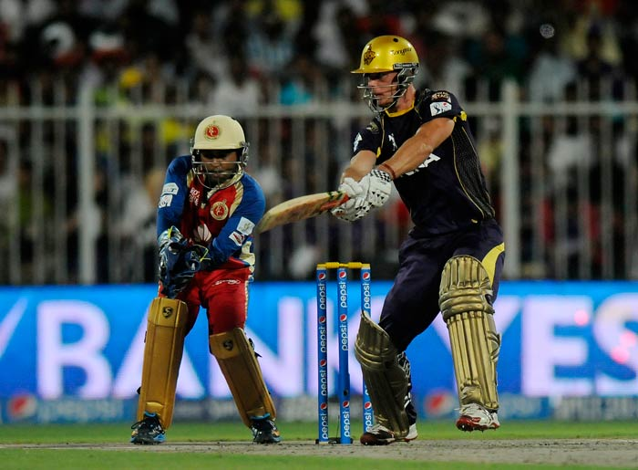 Chris Lynn was in top form as his 45 came off just 31 balls with three fours and as many sixes.