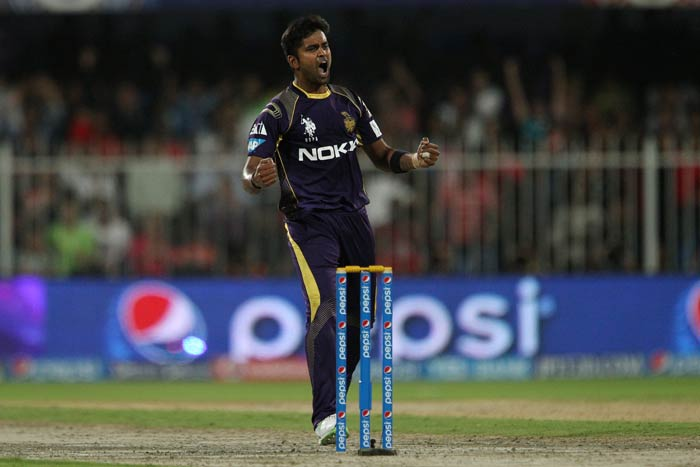 R Vinay Kumar got crucial wickets to end up with 2/26.