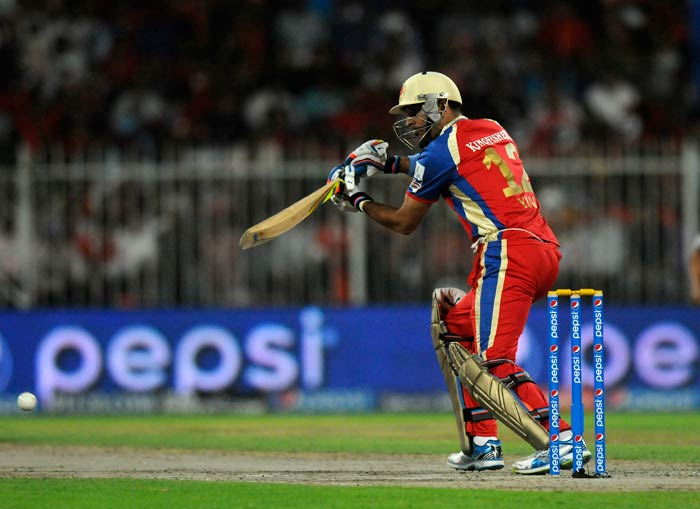 Yuvraj Singh once again demonstrated his styilish batting with a patient 31.