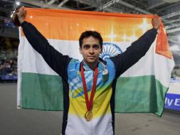 Photo : CWG: Parupalli Kashyap Wins Gold in Baminton Men's Singles