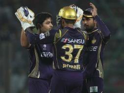 Photo : IPL 2015: Kolkata Knight Riders Sink Delhi Daredevils by 6 Wickets
