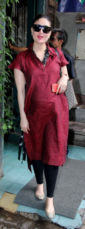 Kareena Kapoor, Radiant in Red