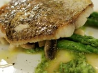Red Snapper with Pesto & Asparagus