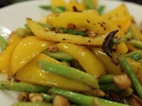 Yellow Pepper and Asparagus