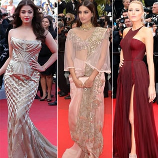 Indian Cinema : A Last Look at Cannes Fashion: 10 Best Dresses
