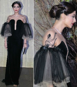 Sonam's Fashion Forward Look by Yanina Couture
