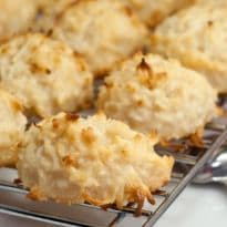Make a Batch: Soft, Chewy & Delicious Coconut Cookies