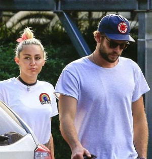 Inside Miley Cyrus and Liam Hemsworth's Day Out