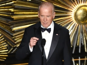 US Vice President Joe Biden, introducing Lady Gaga