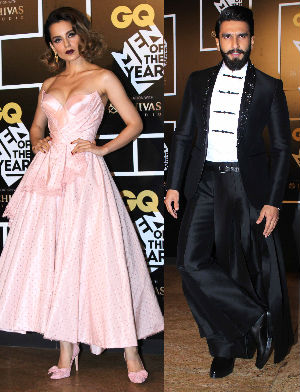 Kangana And Ranveer Singh Rock The GQ Awards