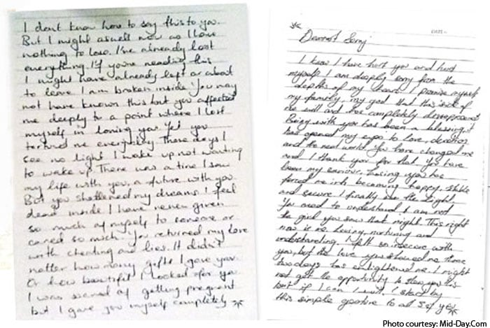 Jiah Khan Case Confusion Over Handwriting In Different