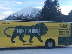 'Make in India' Lion Roars at Davos to Seek Foreign Investment