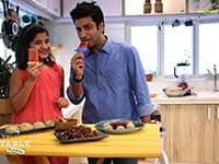 Chef Kunal Kapur Makes Fruit Lollies for His Little Guest