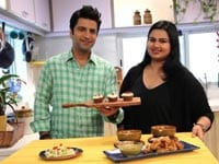 Pooja Dhingra Enjoys the Lip-Smacking Cupcakes