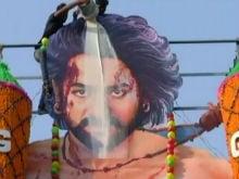 Pics: Baahubali 2 Releases To Rajinikanth-Style Welcome