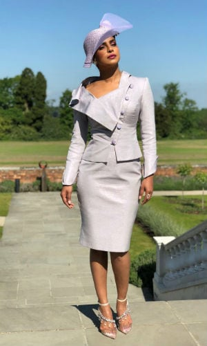 Priyanka Looked F.A.B.U.L.O.U.S At The Royal Wedding