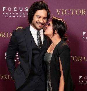 Richa Chadha And Ali Fazal Strike Couple Poses