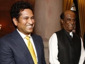 Photo : Rajinikanth and Sachin: Mutual fan club