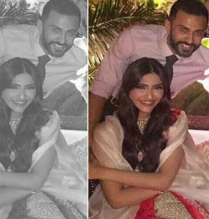 Sonam's Rumoured Boyfriend Was At Her Cousin's Roka
