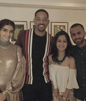 Sonam's Rumoured Beau Was Also at Akshay's Will Smith Party
