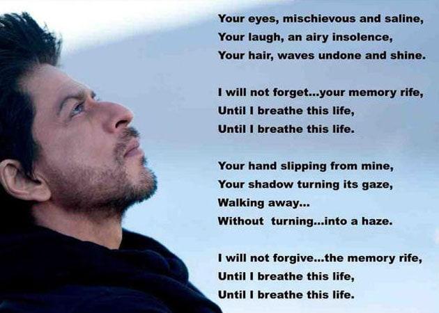 the Jab Tak Hai Jaan poem  Jab Tak Hai Jaan Poem