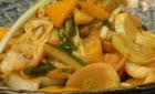 Stir Fried Veggies in a Guillan Chilli Sauce