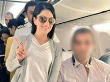 Guess Who Sunny Leone Met on a Plane? It's Someone 'Great'