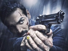 John is Hurt and Bleeding in New Rocky Handsome Poster