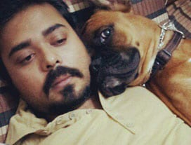 Tales & Tails contest winner - Jayant Mishra from Bengaluru.