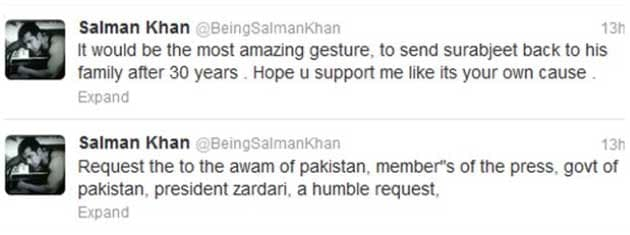 tweet 1 634770120341064199 Why so interested in Sarabjit, Salman?