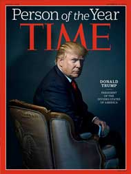 Donald Trump Declared TIME Person Of The Year