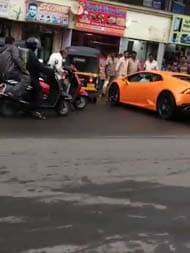 On Camera: Lamborghini, Driven By BJP Legislator's Wife, Hits Auto