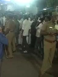 Special Coverage: Heavy Security Outside Apollo Hospital In Chennai