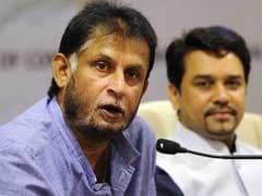 Anurag Thakur Slams Sandeep Patil For Spilling Beans About Sachin Tendulkar