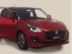 Next Generation Maruti Suzuki Swift Revealed In Leaked Image