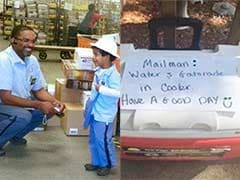 Obama Praises 8-Year-Old Who Left Cold Drinks For Mailman